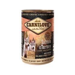 Carnilove-Puppy Salmone e Tacchino Umido (1)