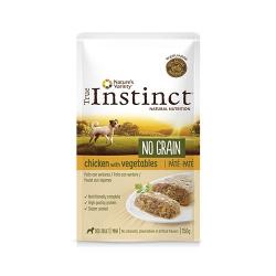 True Instinct-Instinc No Grain Pollo con Verdure 150 Gr Umido. (1)
