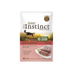 True Instinct-Feline No Grain Manzo 70 Gr Umido (1)