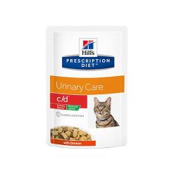 Hills Prescription Diet-PD Feline c/d Urinary Stress Reduced Calorie. Busta 85gr. (1)