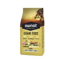 Ownat Grain Free Prime-Junior Pollo e Tacchino per cane (1)