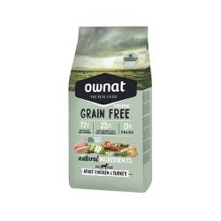 Ownat Grain Free Prime-Adulto Pollo e Tacchino per cane (1)
