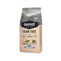 Ownat Just Grain Free-Adulto d'Agnello per cane (1)