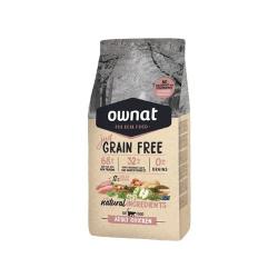 Ownat Just Grain Free-Adulto Pollo per gatto (1)