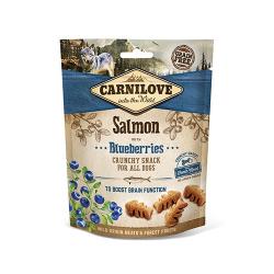 Snack Crunchy Salmone con Mirtilli