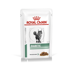 Royal Canin Veterinary Diets-Feline Diabetic Umido 100gr (1)