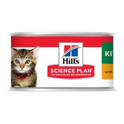 Hills-SP Feline Kitten Mousse (Lattina) (1)