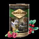 Carnilove-Adult Anatra e Faian Umido (1)