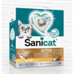 Sanicat Gold sabbia per gatti