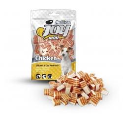 Calibra joy dog mini sandwich bacalao pollo snack para perros