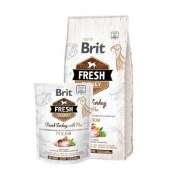 Brit fresh light fit & slim pavo guisantes pienso para perros