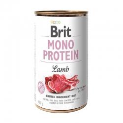 Brit mono protein cordero latas para perro