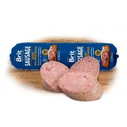 Brit sausage con ternera y pescado sport formula latas para perro