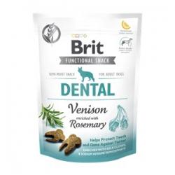 Brit care dog functional snack dental cervo